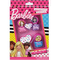 Barbie Игровой набор детской декоративной косметики для ногтей Markwins