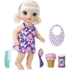 Интерактивная кукла Baby Alive Малышка с мороженным Hasbro