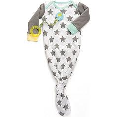 Боди-пеленка с длинным рукавом Happy Baby