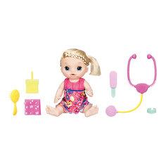 """Интерактивная кукла Hasbro Baby Alive """"Малышка у врача"""""""