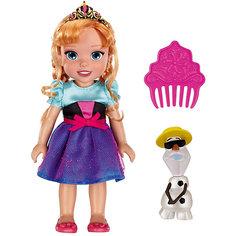 "Кукла-малышка ""Холодное Сердце"" со снеговиком - Анна, 15 см Jakks Pacific"