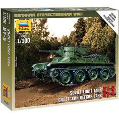 Сборная модель  Советский танк БТ-5 Звезда