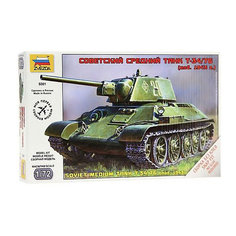 Сборная модель  Советский средний танк Т-34/76 (обр 1940г) Звезда