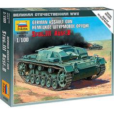 Сборная модель  Немецкое штурмовое орудие Stug-III Ausf.B Звезда