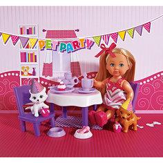 """Кукла """"Еви с набором  """"День рождение питомцев"""", Simba"""