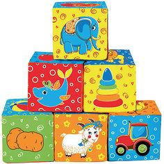 """Первые кубики для малышей """"Мой маленький мир"""" Macik"""