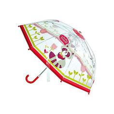 "Зонт Mary Poppins ""Apple forest"" 46 см, прозрачный"