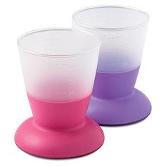 Комплект из 2 кружек BabyBjorn, розовый/сиреневый