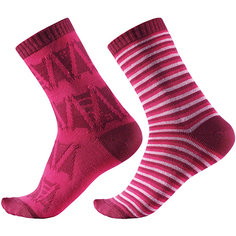 Носки Reima Strum, 2 пары для девочки