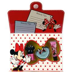 Minnie Игровой набор детской декоративной косметики для лица и ногтей Markwins