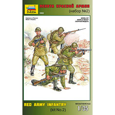 Сборная модель  Пехота Красной Армии N2 Звезда