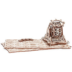 """Сборная модель Wood Trick """"Колесо Фортуны с настольной игрой"""""""