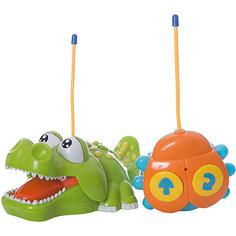 """Радиоуправляемая игрушка Жирафики  """"Крокодильчик"""",свет, музыка"""