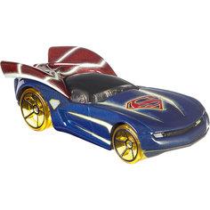 "Машинка персонажа DC Hot Wheels ""Charaster Cars"", Супермен Mattel"