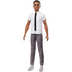 "Кукла Кен Barbie ""Игра с модой"" В рубашке с галстуком, 29 см Mattel"