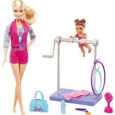 """Игровой набор Barbie """"Барби-гимнастка"""" Инструктор по гимнастике Mattel"""