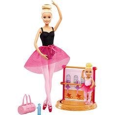 """Игровой набор Barbie """"Барби-гимнастка"""" Инструктор балета Mattel"""