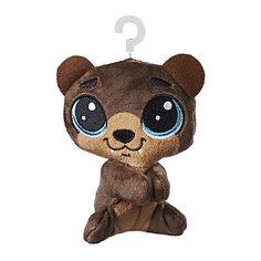 Мягкая игрушка-прилипала Little Pet Shop, Медвежонок Hasbro