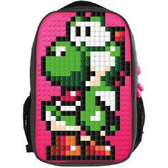 Пиксельный рюкзак для ноутбука Upixel «Full Screen Biz Backpack/Laptop bag», фуксия