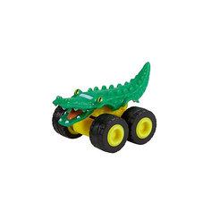 "Маленкая машинка Fisher-Price ""Вспыш и чудо-машинки"" Грузовик аллигатор Mattel"