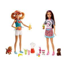 """Игровой набор с куклой барби Barbie """"Сестры и щенки"""" Mattel"""