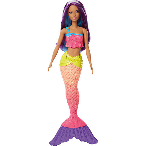 """Кукла-русалка Barbie """"Dreamtopia"""" с фиолетовыми волосами, 29 см"""