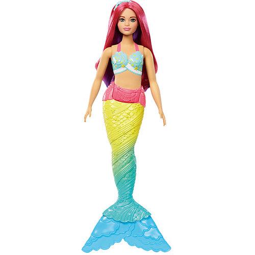 """Кукла-русалка Barbie """"Dreamtopia"""" с розовыми волосами, 29 см"""