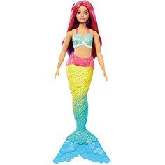 """Кукла-русалка Barbie """"Dreamtopia"""" с розовыми волосами, 29 см Mattel"""
