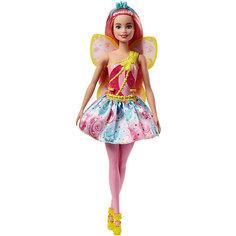 "Кукла Barbie ""Dreamtopia Волшебные Феи"" с розовыми волосами, 29 см Mattel"