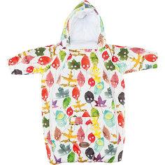 Конверт для новорожденного с рукавами , цвет листики Mammie
