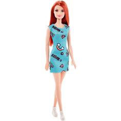 """Кукла Barbie """"Стиль"""" рыжая в голубом платье, 28 см Mattel"""