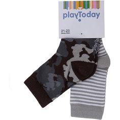 Носки, 2 пары для мальчика PlayToday