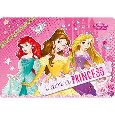 Подкладка на стол А4, Принцессы Дисней Академия групп