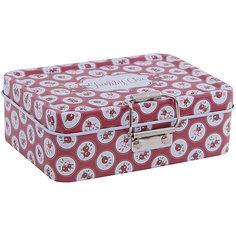 """Коробка для безделушек и мелочей """"Шебби шик красная"""" (12.5*9*4см) Феникс Презент"""