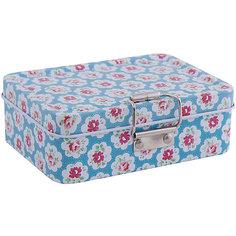 """Коробка для безделушек и мелочей """"Цветные облака"""" (12.5*9*4см) Феникс Презент"""
