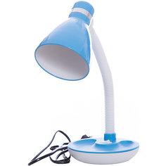 Лампа электрическая настольная EN-DL15, Energy, голубой