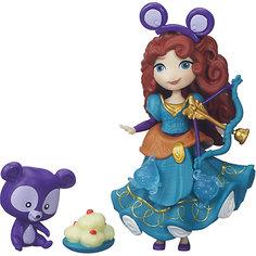 """Игровой набор """"Маленькая кукла Принцесса и ее друг"""" Мерида и медвежонок, B5331/B5332 Hasbro"""
