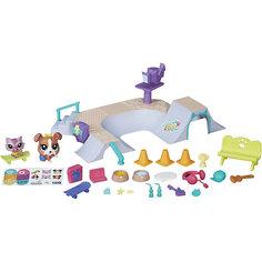 """Игровой набор """"Городские сценки. В парке"""", Little Pet Shop, B5565/B6959 Hasbro"""