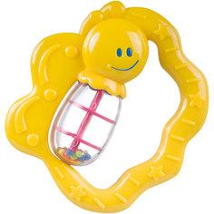 Погремушка Бабочка, 0+, Canpol Babies, желтый