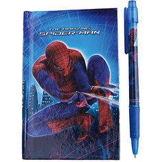 Набор в подарочной коробке: ноутбук, ручка, Человек-Паук Академия групп