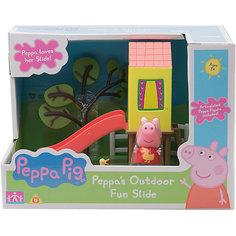 """Игровой набор """"Площадка Домик с горкой"""", Peppa Pig Росмэн"""