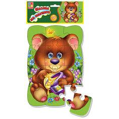 "Пазлы на магните ""Медвежонок"", Vladi Toys"