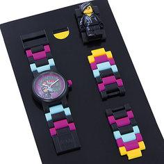 """Часы наручные аналоговые с минифигурой """"Lucy"""" на ремешке, LEGO Детское время"""