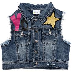 Жилет джинсовый для девочки Scool S`Cool
