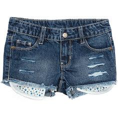 Шорты джинсовые для девочки PlayToday