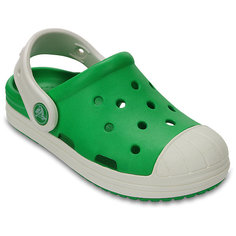 Сабо Kids' Crocs Bump It Clog, зеленый