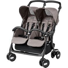 Прогулочная коляска для двойни Peg-Perego Aria Shopper Twin, Mod Beige