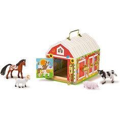 """Деревянные игрушки """"Дом с замочками"""", Melissa & Doug"""