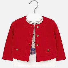 Комплект: блузка и кардиган Mayoral для девочки