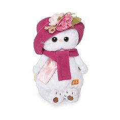 Мягкая игрушка Budi Basa Кошка Ли-Ли в панаме и шарфе, 24 см